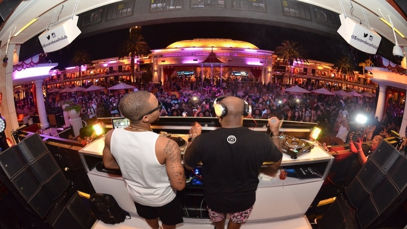 Xs nightclub jermaine dupri x shad moss take over ebc at night