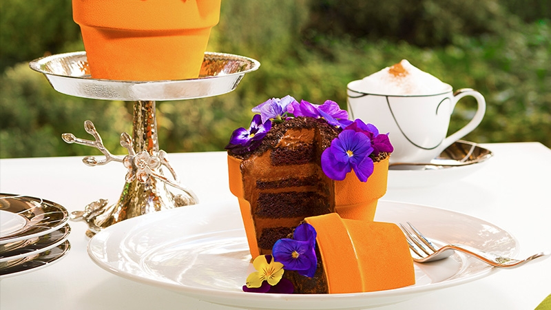 Intrigue Fanciful Cakes Await At Jardin